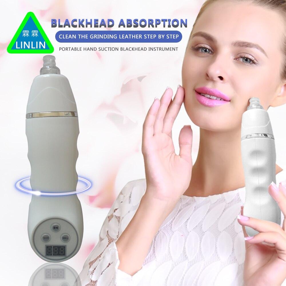 LINLIN Clean Comedone Rimuovere Macchina Poro Facciale Pulitore di Aspirazione di Vuoto Diamante Dermoabrasione Dispositivo Desquamazione della pelle Acne comedoni