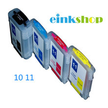 Free Shipping 5sets C4844A,C4836A,C4837A,C4838A refillable Ink cartridge For HP11,10 HP Business Inkjet 1000,1100,1200,2200,2230