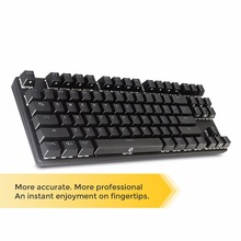 Drevo Tyrfing Mechanical Keyboard 87 Keys Backlit Gaming Keyboard  Black Switch Black/Blue/Brown/Red Wired USB Connection