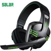 Ihens5 Computer Stereo Gaming Headphones Salar KX101 Best Casque Deep Bass Game Earphone Headset With Mic