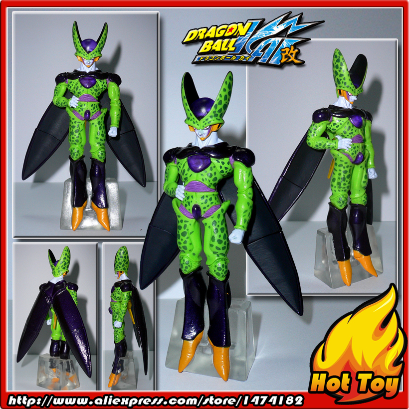 100% Original BANDAI Gashapon PVC Toy Figure HG Part 14 - Perfect Cell from Japan Anime Dragon Ball Z (11cm tall) купить