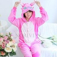 Fashion Adult Onesie Piglet Pyjamas Cosplay Animal Kigurumi Cartoon Sleepwear Women Cute Unisex Fancy Dress Pajamas