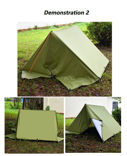 Ultralight Tarp Outdoor Camping Survival Sun Shelter Shade Awning Silver Coating Pergola Waterproof Beach Tent 4