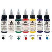 Pigmento de tinta de tatuaje de planta Natural de 30 ml para delineador de ojos Semi-permanente para maquillaje y maquillaje herramientas TSLM2