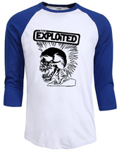 new fashion 2017 autumn summer The Exploited print men's t-shirts punk Skull brand tee shirt Hip Hop Casual homme Swag clothing