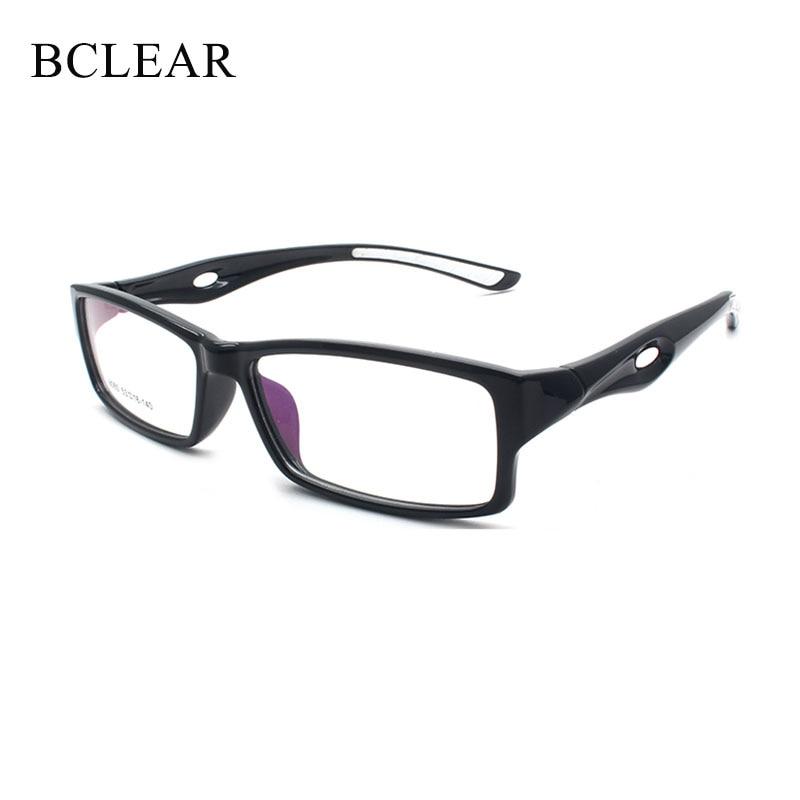 BCLEAR Light TR90 Sports Eyewear Optical Glasses Frames Men Women Black Eye Glasses Flexible Sport Stylish Unisex Eyeglasses Hot