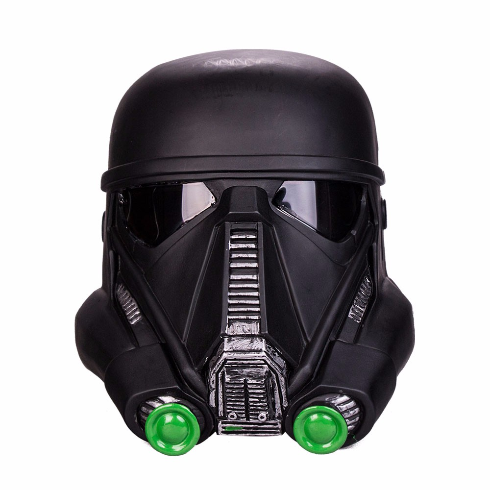 Free Shipping Cosplay Star Wars  Death Trooper Helmet Kids Mask Classic Force Awakens Rubies Deluxe Helmet Halloween Party (2)