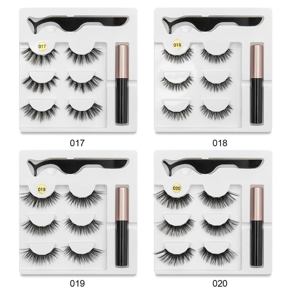 Image 5 - SEXYSHEEP Magnetic Eyelashes Eyeliner Eyelash Curler Set5 Magnet Natural Long Magnetic False Eyelashes With Magnetic Eyeliner-in Eyelashes Set from Beauty & Health