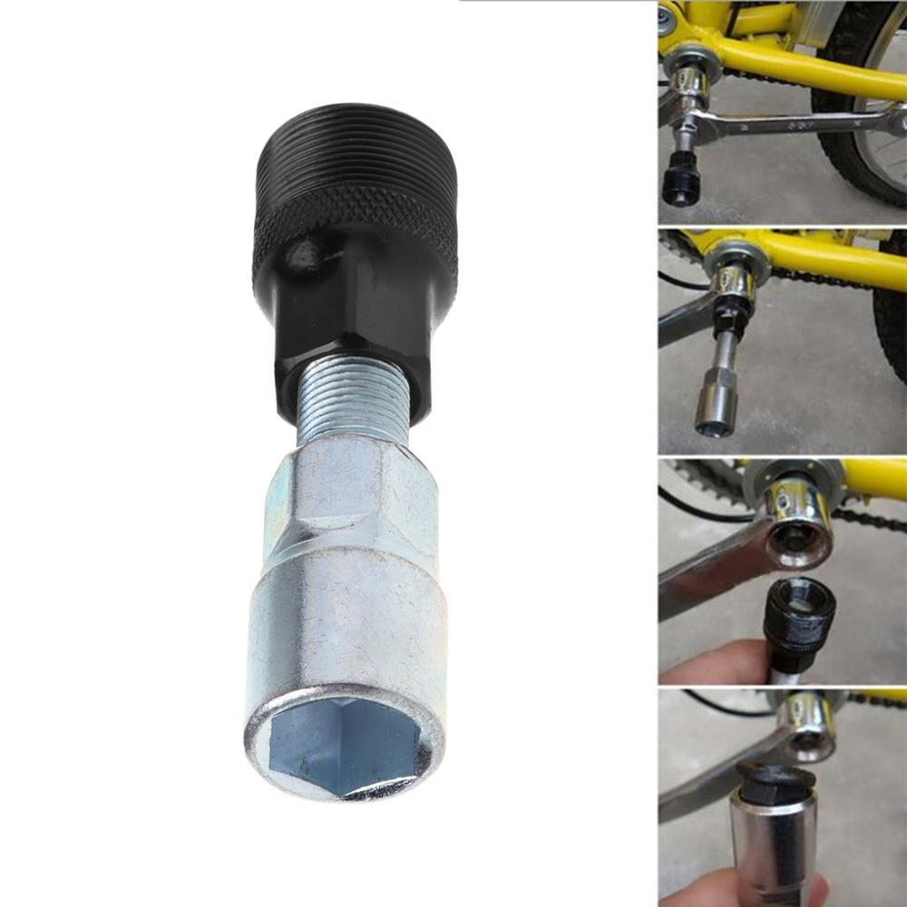 Carbon Steel Cycle Bike Bicycle Bottom Bracket Crank Puller Removal Repair Tool