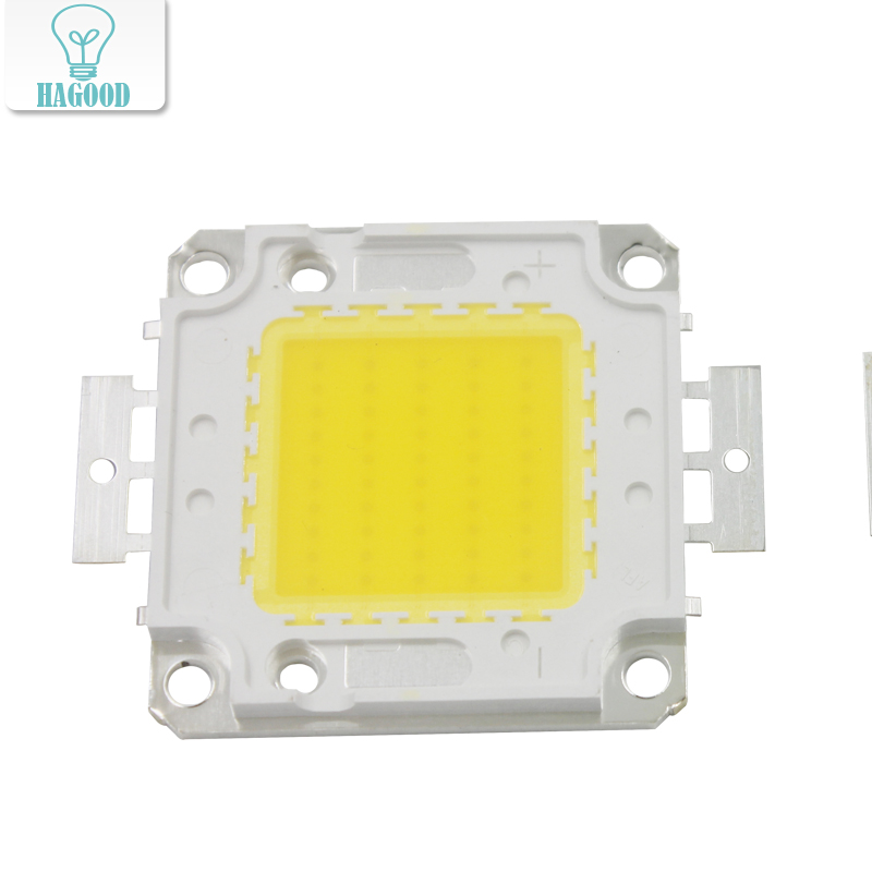 retail sale Free Shipping 50W 4000-4500LM High Power LED chip LED IC SMD Lamp Light White Blue Green White Yellow .Warm White high power 100w 9000lm led chip led bulb ic smd lamp light blue green white yellow warm white one power supply driver