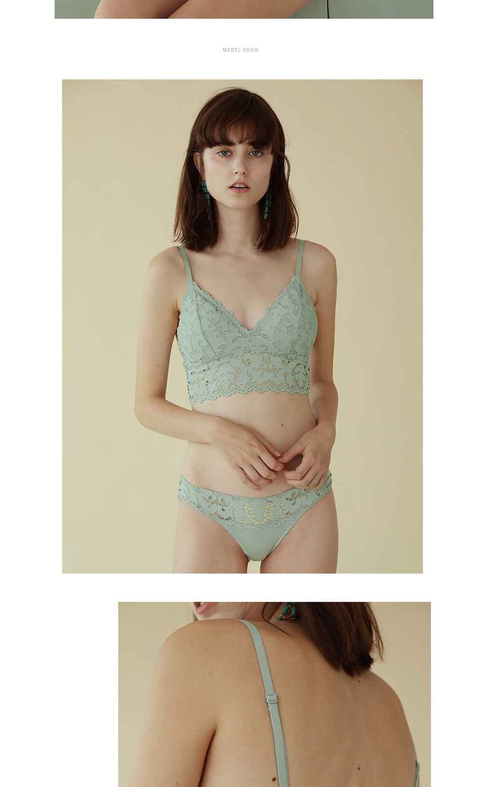 lace limitation lingerie French lace sexy bra Romantic Temptation Bra Set  Young Women deep V-neck push up Underwear Set Lade Bra c354e1084