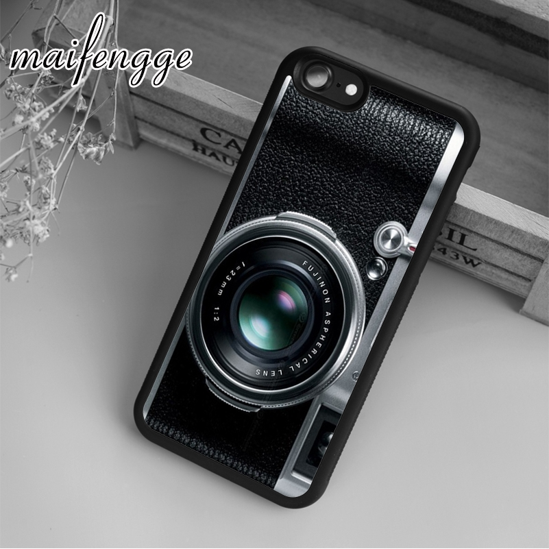 Vintage Camera B Case For Iphone 5 6 6S 7 8 Plus X XR XS Max 11 Pro Samsung Galaxy S7edge S8 S9 S10