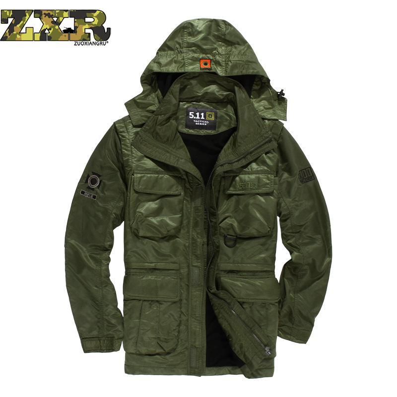 Veste imperméable militaire hommes Fans militaires uniforme loisirs de plein air coupe-vent Forces spéciales vert veste de chasse