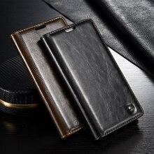 Huawei P9 lite чехол Улучшенный бизнес-Стиль кожаный бумажник Стенд телефон случаях Аксессуары для Huawei Ascend P9 Lite Fundas