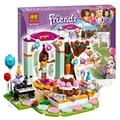 194 pcs 2016 bela 10492 amigos festa de aniversário mixed tijolos para construção blocos clássico meninas brinquedos compatíveis com lego