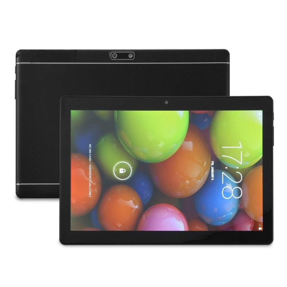 Tablet Android 10 Inch 3G Phone Tablets PC Dual SIM Card Slots 2GB+16GB Quad-Core IPS 1280x800 WiFi Bluetooth GPS EU freeship boda 9 7 inch phone pad dual sim card tablet pc 16gb 3g 4g quad core ips hd gps android 5 1 free gift keyboard cover