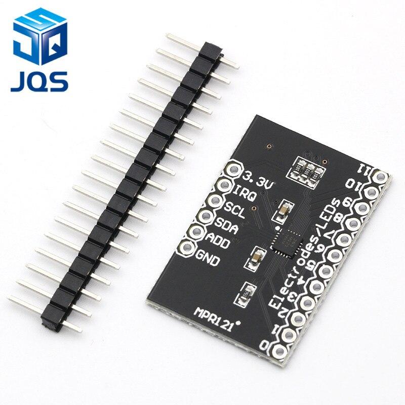 MPR121 Breakout V12 Capacitive Touch Sensor Controller Module I2C Keyboard Development Board
