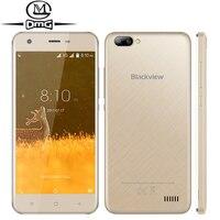 Original Blackview A7 Android 7 0 Dual Rear Cameras Mobile Phone 5 0 MT6580A Quad Core