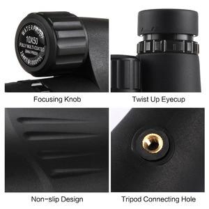 Image 4 - Eyeskey 10 × 50 内蔵レチクル距離計単眼望遠鏡防水窒素キャンプ狩猟スコープと Bak4 プリズム