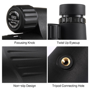 Image 4 - Eyeskey 10x50 Built in Reticle Rangefinder Monocular Telescope Waterproof Nitrogen Camping Hunting Scopes with Bak4 Prism