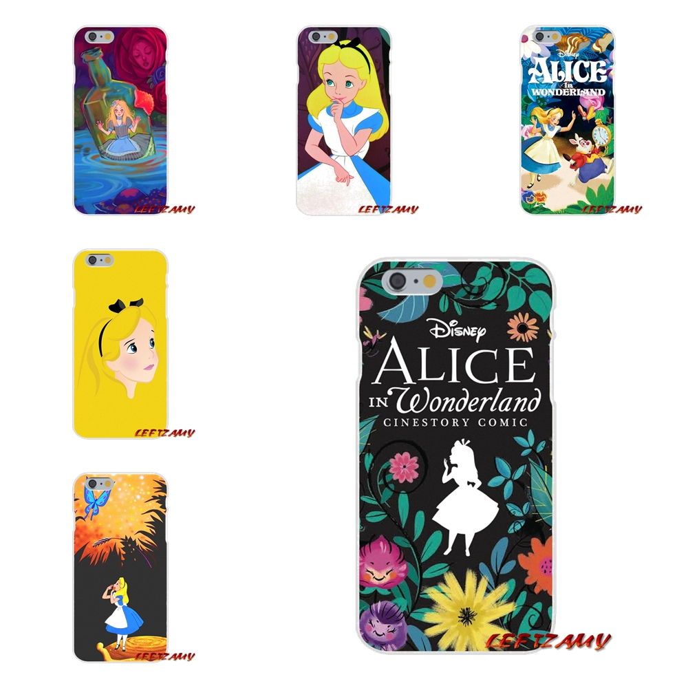 cartoon alice in wonderland For Samsung Galaxy A3 A5 A7 J1 J2 J3 J5 J7 2015 2016 2017 Accessories Phone Shell Covers