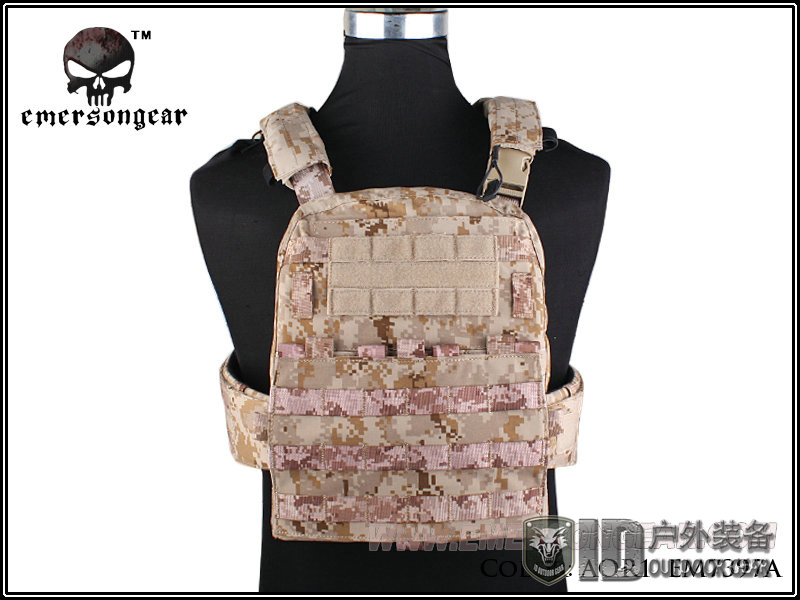 Hunting EMERSON CP Style Adaptive Vest Heavy duty Version Airsoft Paintball Military Army Combat Gear EM7397 AOR1