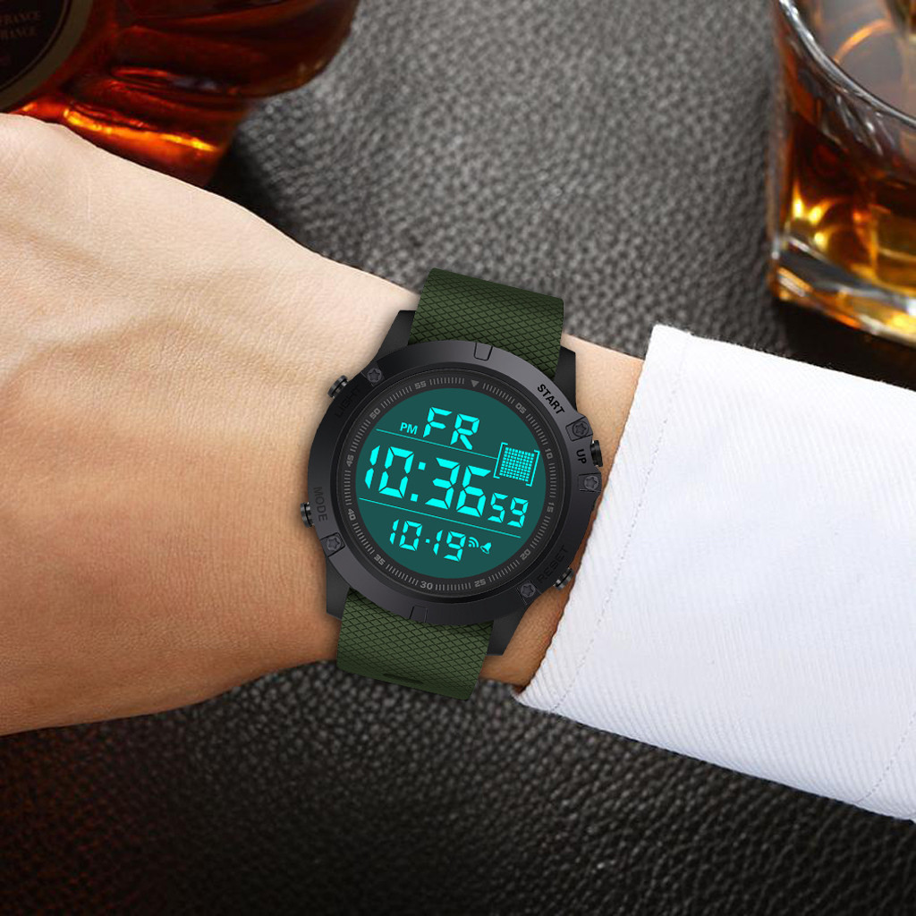 Watch Mens Sport Watches Outdoor Digital Wristwatch digital watch relogio masculino digital reloj deportivo hombre montre homme