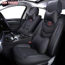 יוקרה עור רכב מושב מכסה עבור פיג ו 107 206 301 307 sw 308 sw 405 508 sw 3008 4007 2008 408 308 201 traveller מושבים לרכב