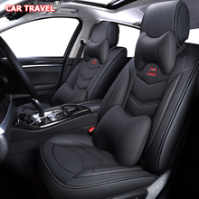 Capas de assento de carro de couro de luxo, para peugeot 107 206 301 307 sw 308 405 sw 508 3008 4007 2008 408 308 assento de carro de viajante