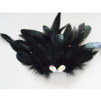 Black Swan Lake Hand Made Ballet Crystal Feather Headwear Ballet Dance Ornament Retail Wholesale Drop Shipping