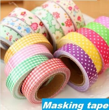 CBTstationery Gift Store 1pcs/lot Cotton Adhesive tape masking Japanese tape Decorative tape Scrapbooking sticky Stationery School supplies
