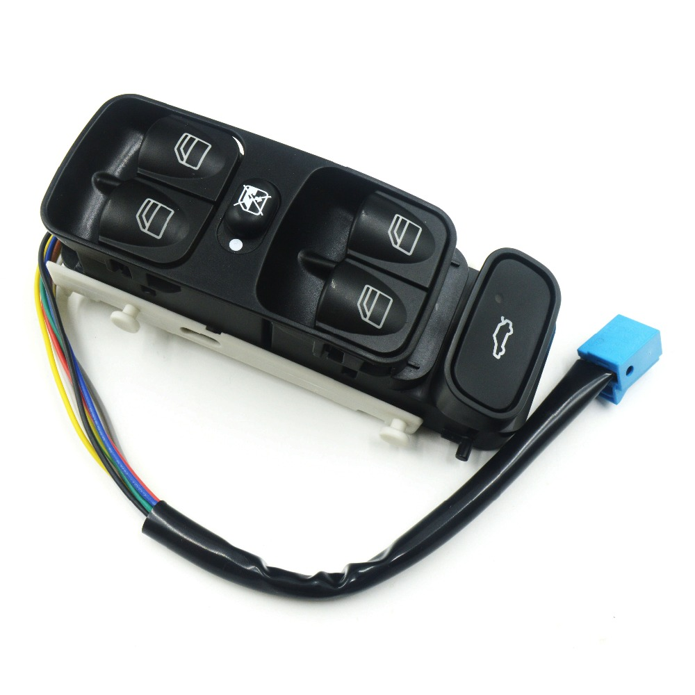 A2038200110 A2098203410 NEW Power Control Window Switch Button For MERCEDES C CLASS W203 C180 C200 C220 2038210679 A2038210679(China)
