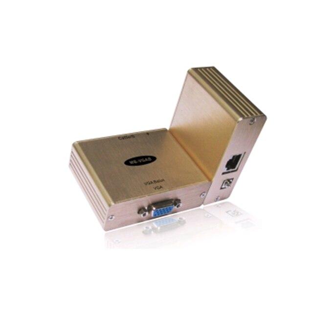 オーディオビデオエクステンダー/YPbPr エクステンダー 1 CH パッシブ VGA バロン使用するため、 pc 、ラップトップ、プラズマ、 lcd ディスプレイと DLP プロジェクター