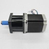 Ratio20: 1 NEMA34 Motor paso a paso 86*80mm 4NM 570oz 4A 4 cables con Kit reductor de caja de cambios planetaria par alto CNC