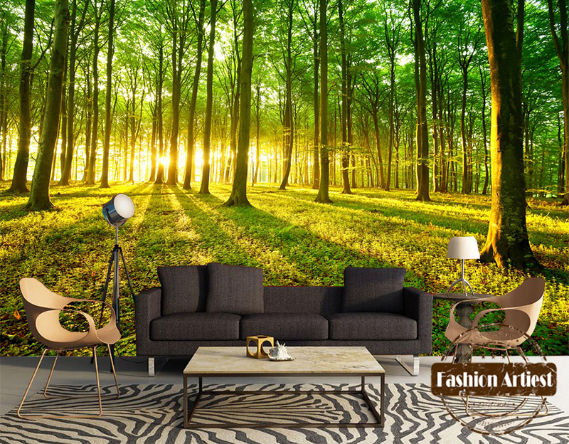 Popular Wallpaper Tree Mural Buy Cheap Wallpaper Tree Mural Lots From China Wallpaper Tree Mural
