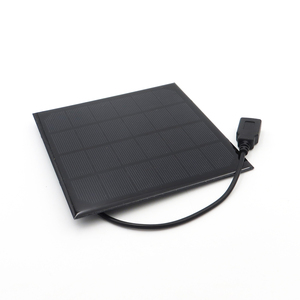 Image 3 - 6V 3 ワットソーラーパネル充電器単結晶太陽電池 DIY ソーラー充電バッテリーケーブル 30 センチメートル 5V USB 出力ソーラーパネル 6VDC