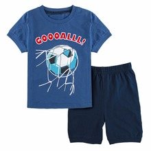 Cute Summer Breathable Cotton Baby Boy's Pajamas