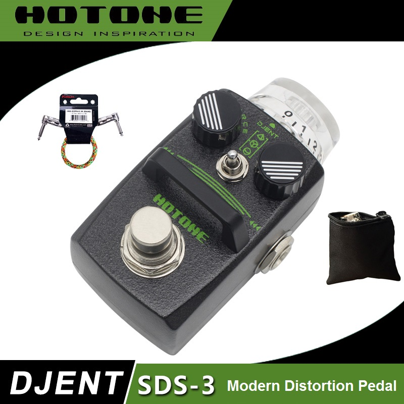 Hotone Skyline Series Djent SDS 3 Modern Hi Gain Distortion Pedal with Free Pedal Case and