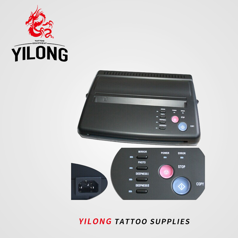 Tattoo Drawing Дизайн Tattoo Thermal Stencil Maker Copier Tattoo Transfer Machine Printer Free Gift Transfer Paper Тегін жеткізу