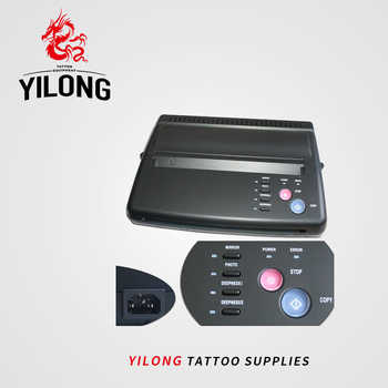 Tattoo Drawing Design Tattoo Thermal Stencil Maker Copier Tattoo Transfer Machine Printer Free Gift Transfer Paper Free Shipping - Category 🛒 Beauty & Health