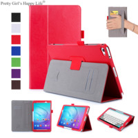 For Huawei MediaPad M2 Lite 10.1 inch Tablet Case Flip Leather Cover For Huawei M2 Lite 10.1'' Stand Cases Capa Funda+Stylus