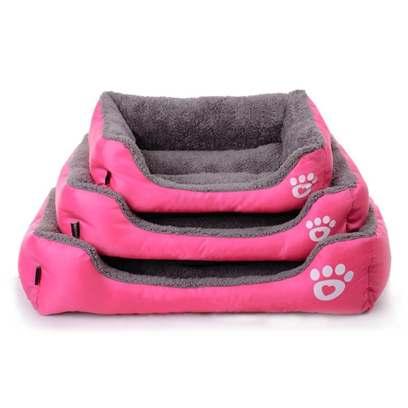 الشتاء كلب سرير لينة المواد كلب البيت - منتجات الحيوانات الأليفة