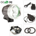 3 model 3800 lm 2x CREE T6 waterproof headlamp LED Front Bike Bicycle Light Headlight Light + 6400MAH Battery Pack+Charger