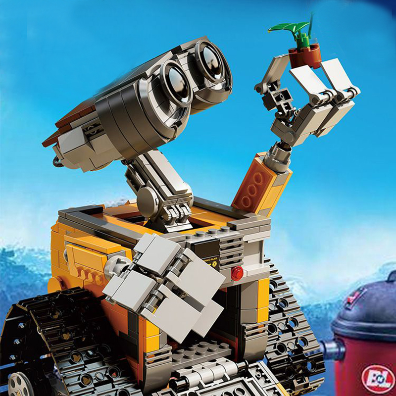 Blocks 687pcs Fit Legoness Ideas 21303 Robot Wall E 3d Movies Action Figures Building Blocks Toys Kits For Kids Creative Christmas Gift