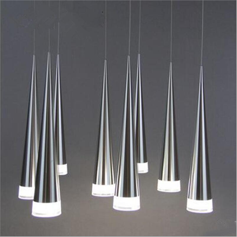Modern led Conical pendant light Aluminum&metal home/Industrial lighting hang lamp dining/living room bar cafe droplight fixture modern led conical pendant light aluminum