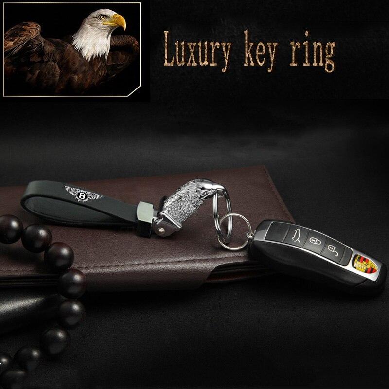 Eagle Head Car Styling Keychain