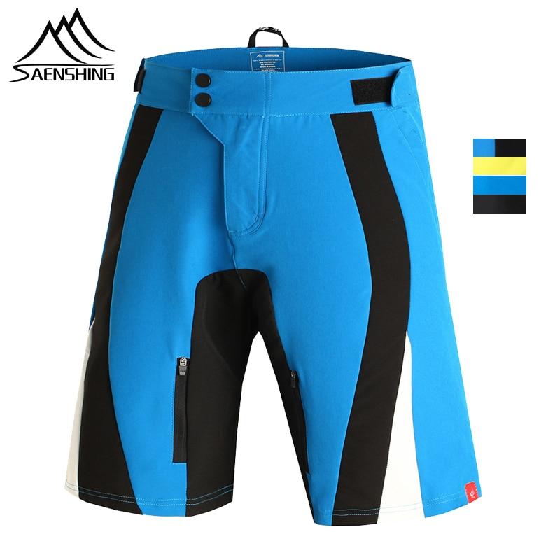 SAENSHING Cycling Shorts Men Breathable Bicycle Short Pants Mountain Bike Shorts sports Downhill MTB bermudas ciclismo