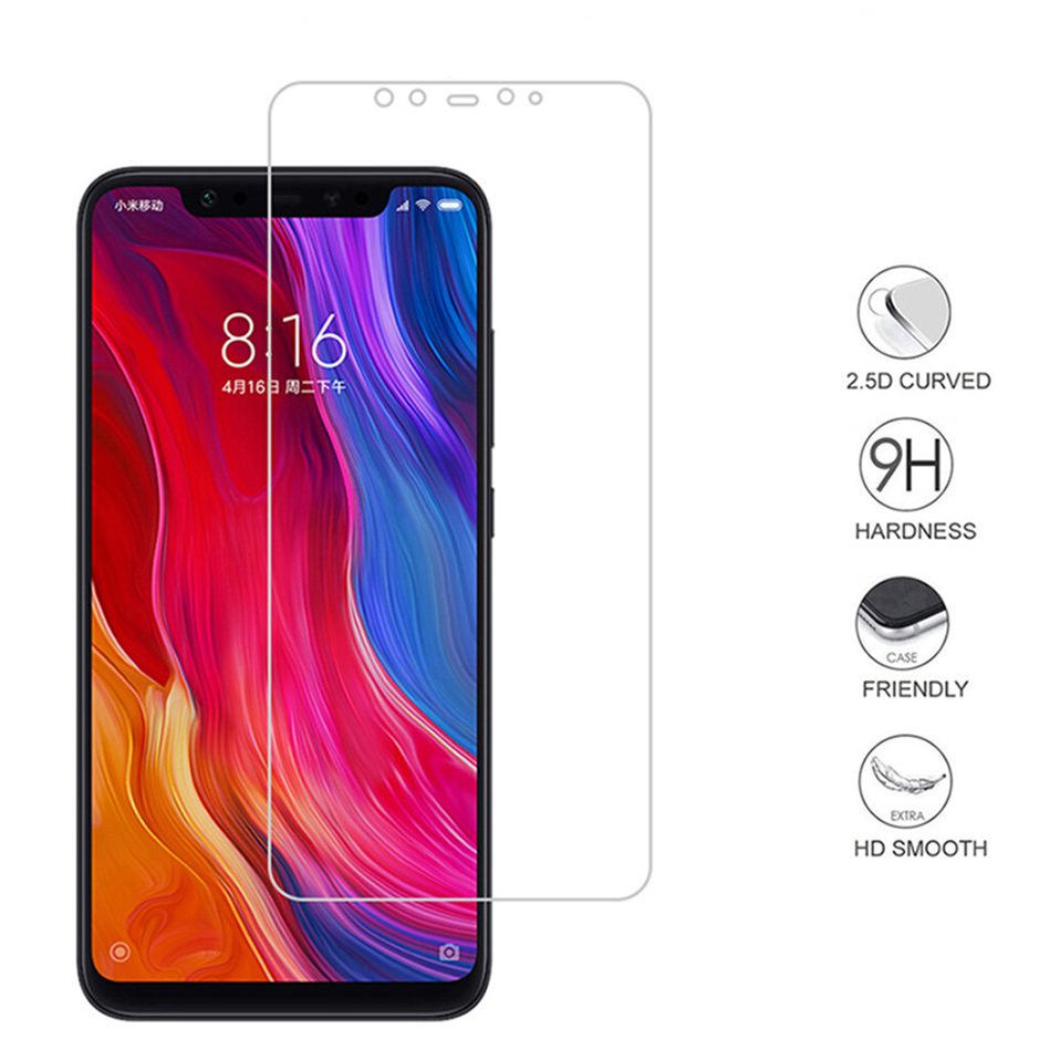 2PCS Tempered Glass Film on For Huawei y3 y5 y7 2017 y6 y9 2018 Glass Screen Protector Protective Glass Film (2)