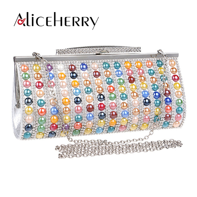 Women Purses And Handbags Evening Bag Lady Bridal Wedding Colour Purse Party Messenger Phone Puls