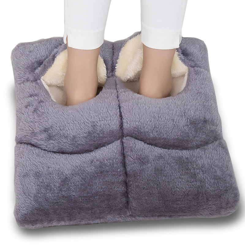 Foot Hand Warmer Heating Pad Slippers Sofa Chair Warm